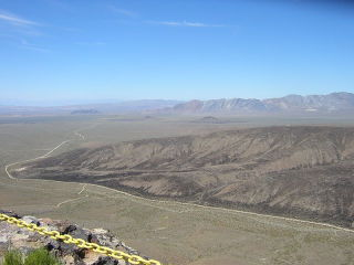 Looking west from atop Yucca Mountain. (Photo: Wikipedia)