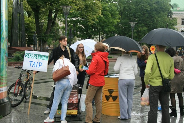 Antinuclear marathon Vilnus- 3