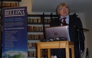 """r at the joint Rosatom-Bellona conference """"Russia'sAtomic Energy: Conditions, Tendencies and Safety."""" (Photo: Bellona)"""