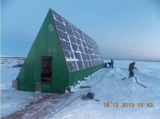 Solar installations bring constant electrical to the remote Kola Peninsula village of Pyalitsa, (Photo: Courtesy of Gennady Popov)