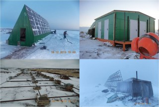 Various sources of renewable and efficient energy powering the Pyalitsa settlement in the Murmansk Region. ((Photo: Courtesy of Gennady Popov)