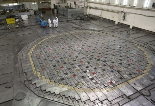 Fuel hall at the Leningrad Nuclear Power Plant. (Photo: Wikipedia)
