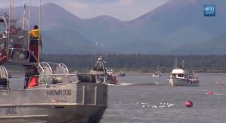 Bristol Bay's bustling fishing community. (Photo: Still from White House video)