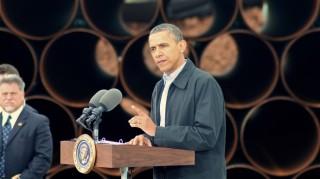 Obama speaking on the Keystone Pipeline. (Photo: Matt Wansley via Flickr)
