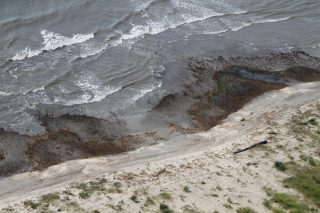 heavy oiling on the Gulf coast in 2010. (Photo: Jonathan Henderson/Gulf Restoration Network)