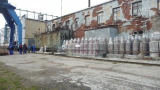 Temporary fuel storage at Gremikha. (Andrey Zolotkov/Bellona)